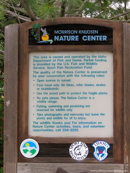 Morrison Knudsen Nature Center