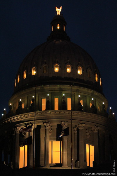 Idaho Capitol Building - December 21, 2012