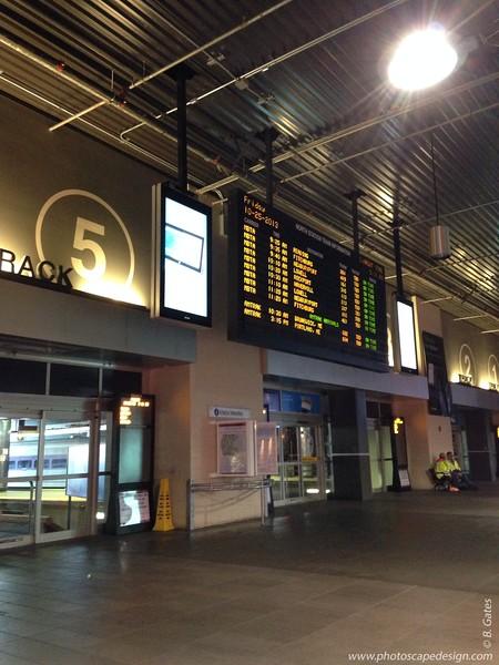 North Train Station in Boston