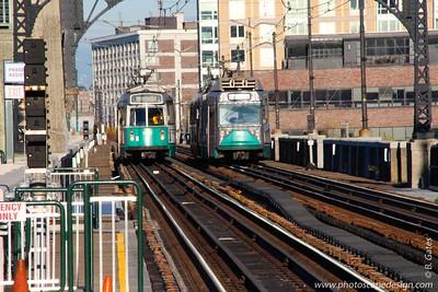 Subway station in Boston