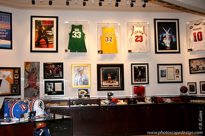 Sports Memorabilia Store, Inside Mandalay Bay, Las Vegas, Nevada
