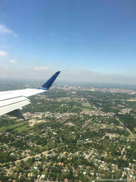 Flying into Austin