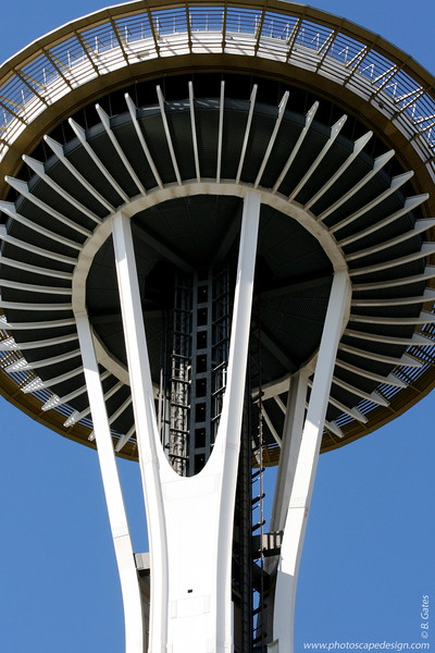 Space Needle - Seattle (Sept. 7, 2007)