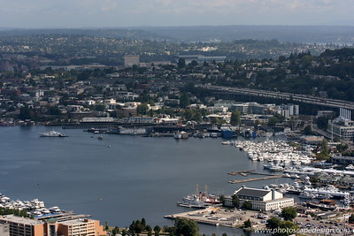 View from the Space Needle - Seattle (Sept 7, 2007)
