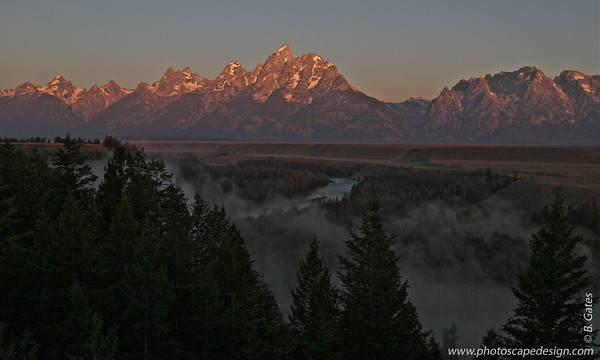 Snake River Lookout, Grand Teton National Park, Wyoming