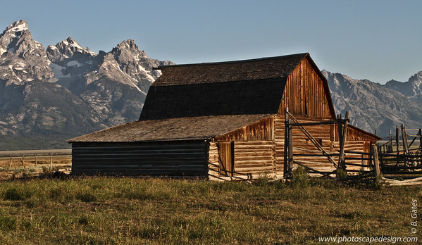 Mormon Row, Jackson Hole, Wyoming