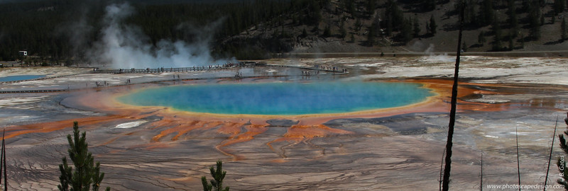 Grand Prismatic, Yellowstone National Park, Wyoming