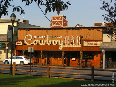 Million Dollar Cowboy Bar - The Million Dollar Cowboy Bar has a long and colorful history that began in the late 1890s. It is a vital part of western Americana, and, is renowned throughout the world as an example of what the wild Wyoming west was, and still is.