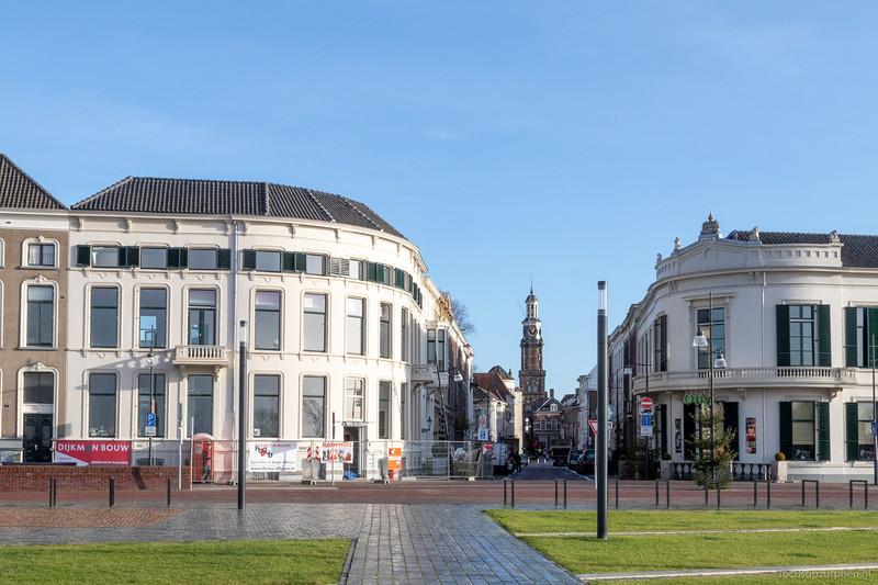 Entree van de Marspoortstraat gerenoveerd