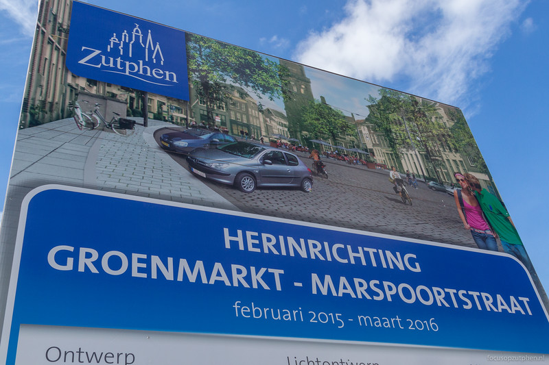 Herinrichting Groenmarkt - Marspoortstraat