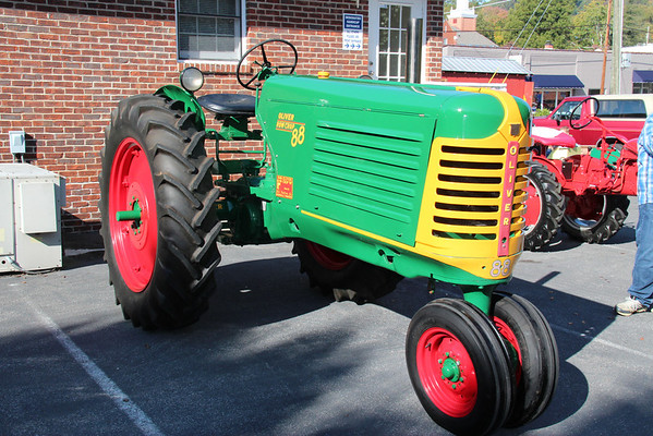 Heritage Days, Tractor Display
