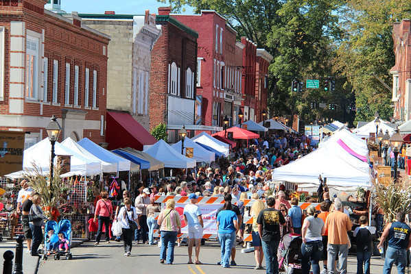 2013,  Heritage Days booths and people