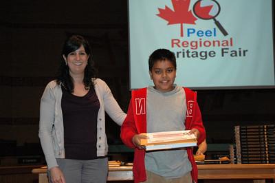 2012 - Peel Regional Heritage Fair