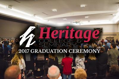 Heritage Graduation 2017