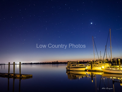 Heritage Marina Stars at Night