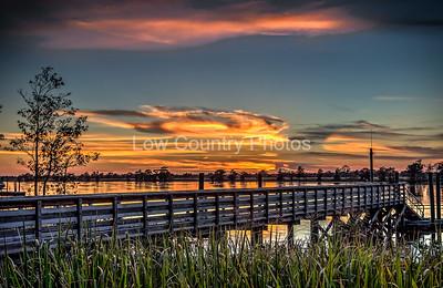 Heritage Marina Sunset - Pawleys Island