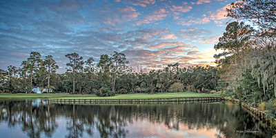 View of 18th Green at Heritage Plantation