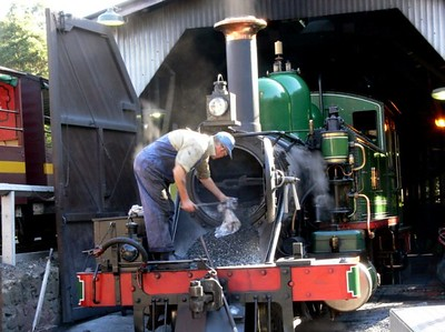 Puffing Billy - Firebox Cleaning