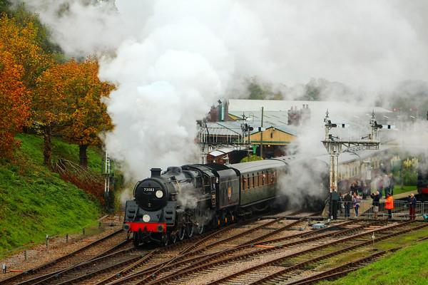 Giants of Steam Bluebell gala