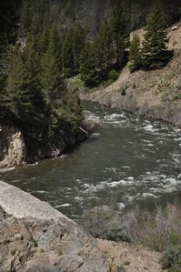 Dam at Sunbeam, Idaho. 6.17.11