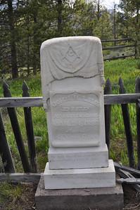 John Lee's grave, Grave at Bonanza City Cemetary, Bonanza City, Idaho. 6.18.11