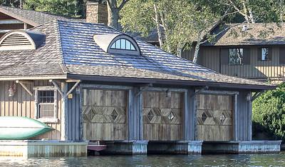 Boathouse Architecture, Lake Placid, NY