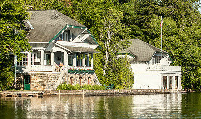 Summer Homes & Boathouse Architecture, Lake Placid, NY