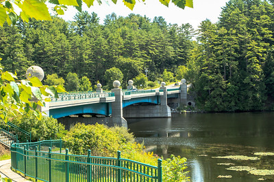 Leyard Bridge, across the Connecticut River