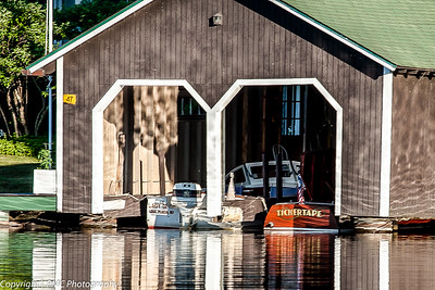Boathouse Architecture, Lake Placid, NY