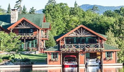 Summer Homes & Boathouse Architecture, Lake Placid, NY