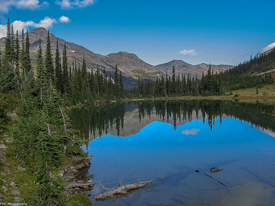 At the height of the Athabasca Pass a National Historic Site of Canada
