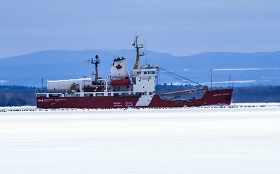 "Canadian Coast Guard Vessel, ""Martha Black"""