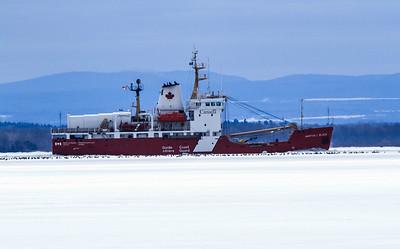 "Canadian Coast Guard Vessel, ""Martha Black"""