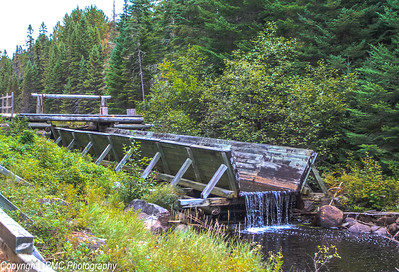 Log Chute, Another example of Canada's industrial heritage.
