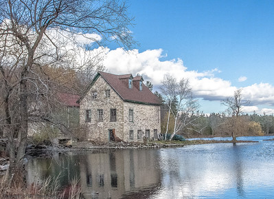 Bedford Mills along the Rideau Canal