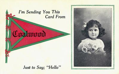Postcard sent by John W. to Bill, while Bill was threshing at Beach, North Dakota Sept. 1913