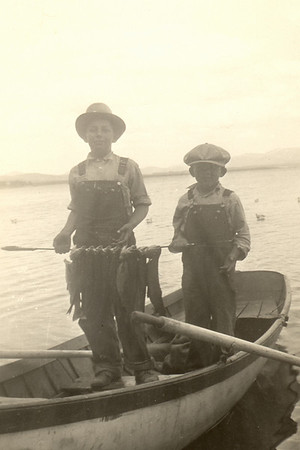 Floyd & Lew, Yellowstone Lake