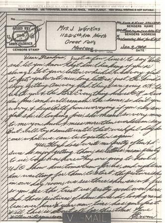 1944 Jan 9 V Mail