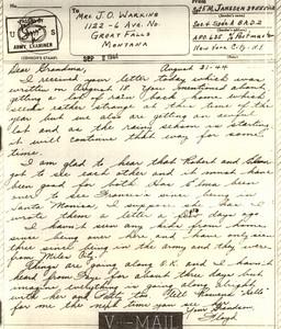 1944 Sept 2 V Mail