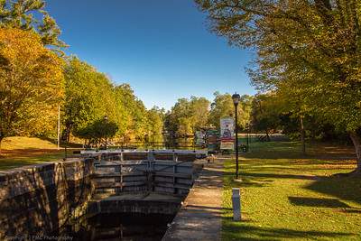 Chaffeys Lock on the Rideau Canal