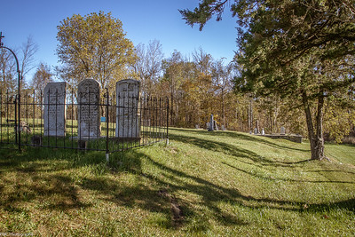 Old Presbyterian Cemetery at Newboro