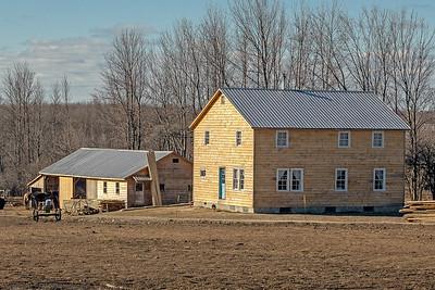 Mennonite Farm,  Upstate NY