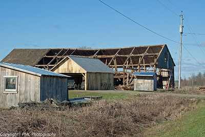 Outbuildings of an Amish Farm, Upstate NY