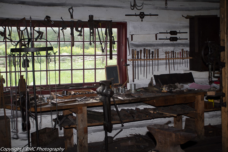 The Blacksmith's Shop, UCV
