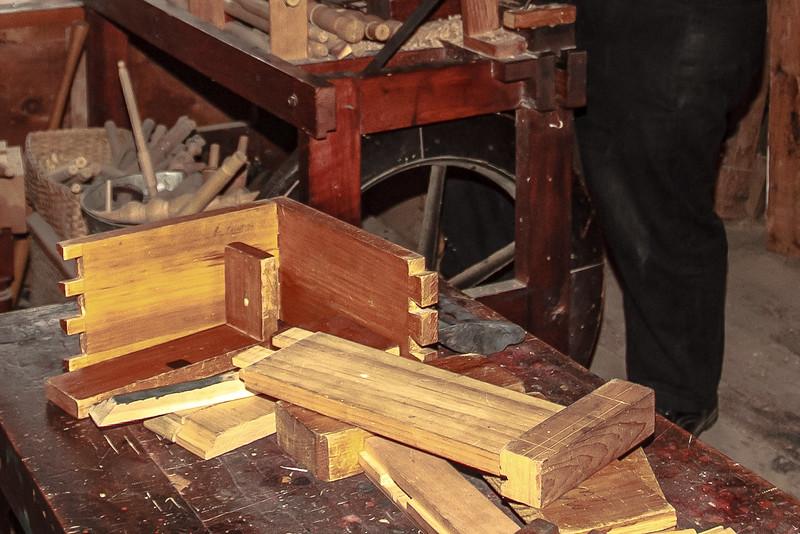 Joinery Samples, Cabinet Maker's Shop