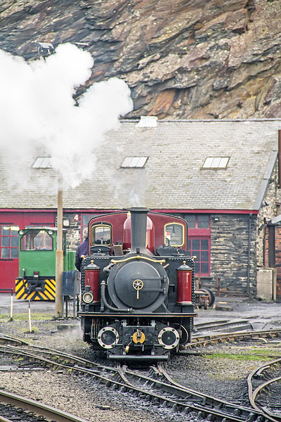 Merddin Emrys at Boston Lodge
