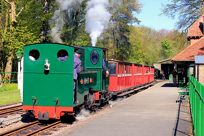 Almost ready to depart with the 16:00 departure from Woody Bay.  13/05/12.