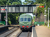 DMU arriving at Sheringham