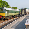 D7612 at Totnes Littlehempston - 28 May, 2016
