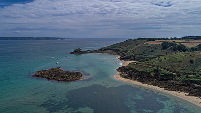 View to Belvoir Bay, Herm